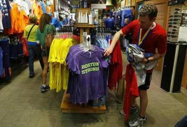 Retailers say community support, an additional 9,000 registered runners, and warm temperatures helped them exceed even their most optimistic sales expectations.